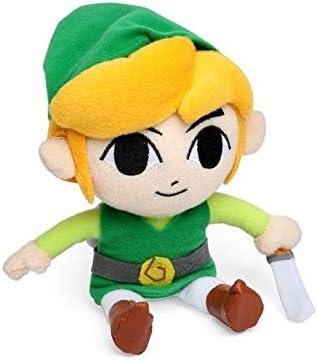75ZEL023 Zelda Link Peluche Sanei Multicolore
