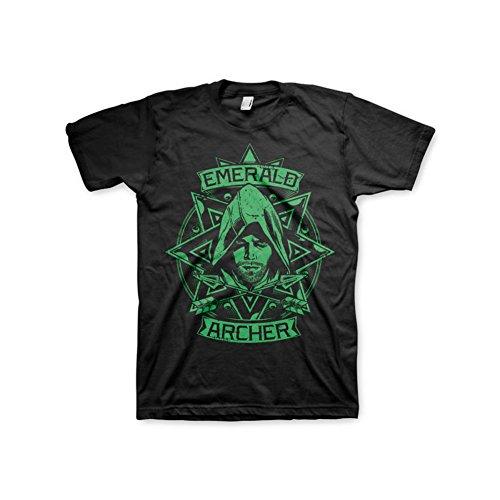 shirt Hommes Archer Airwolf Arrow T 5xl 4xl Sous 3xl Emerald noir Officiellement Licence Noir Marchandises xqY7tCawv