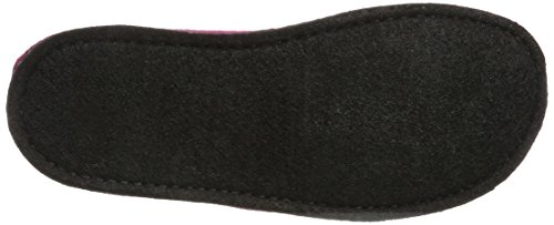 Haflinger Flair Smily - Pantuflas Unisex adulto Rot (Port)