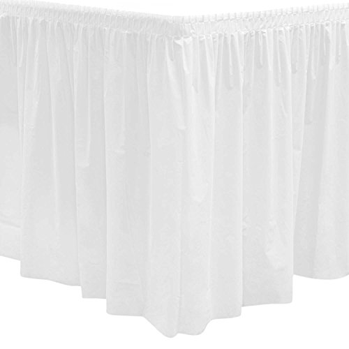 Party Essentials Plastic Table Skirt, 96