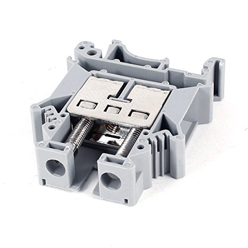 Aexit Gray 800V Audio & Video Accessories 101A UK16N Screw Contact Terminal Block Connectors & Adapters Connector 22-4AWG -