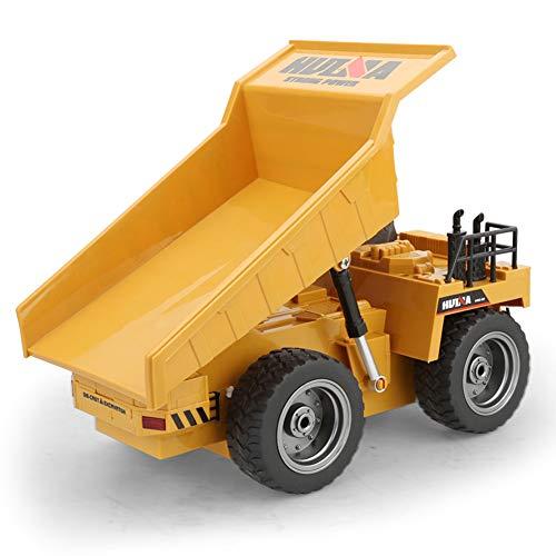 Alivier 6 canales eléctricos Rc control remoto completo funcional camión volquete juguete niños juguete coche: Amazon.es: Bebé