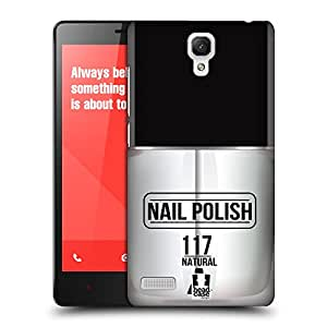 Head Case Designs Natural Nail Polish Protective Snap-on Hard Back Case Cover for Xiaomi Redmi Note 4G Note
