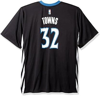 new style 73495 efdf7 NBA Men's Minnesota Timberwolves Karl-Anthony Towns Replica ...