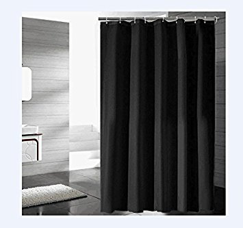 Eforgift Fabric Shower Curtain Mildew Resistant Water Repellent Standalone And Opaque Long Lasting Polyester