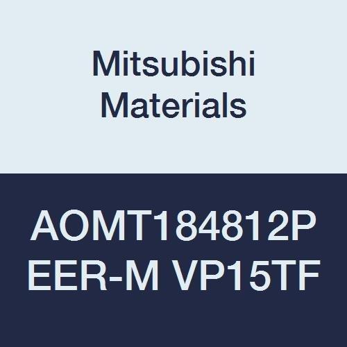 0.047 Corner Radius Class M Pack of 10 0.189 Thick Parallelogram 85/° Mitsubishi Materials AOMT184812PEER-M VP15TF Coated Carbide Milling Insert Round Honing
