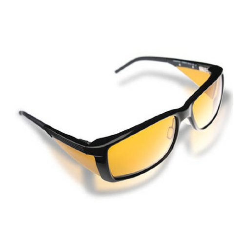 Eschenbach wellnessPROTECTION Sunglasses - Men's Frame - 85% Yellow - 85 Tint Sunglasses