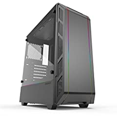 The Eclipse P350X is a compact EATX mid-tower with an optimized high-airflow design. The intuitive case features convenient installation of full length GPU and PSU, integrated Digital RGB lighting, spacious interior, and easy cable management...