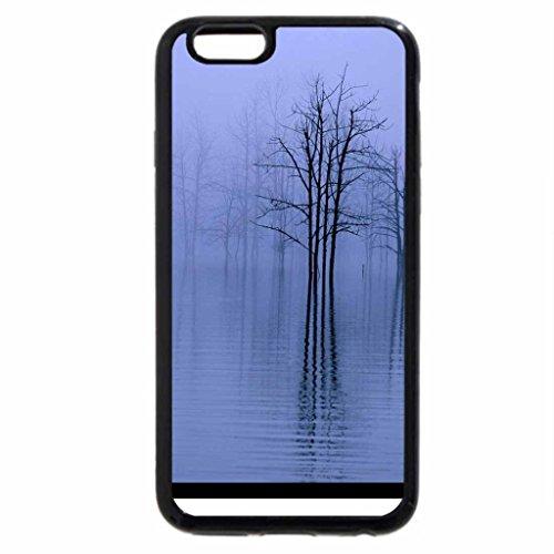 iPhone 6S / iPhone 6 Case (Black) Misty Lake
