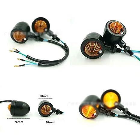SYG/_FR yRKg7KyEq 2X 12V Universel Eclairage Lampe Indicateur Feux Signal Clignotant Pour Moto Bleu