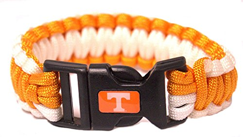 NCAA Licensed Survivor Cord Bracelet (Tennessee Volunteers)