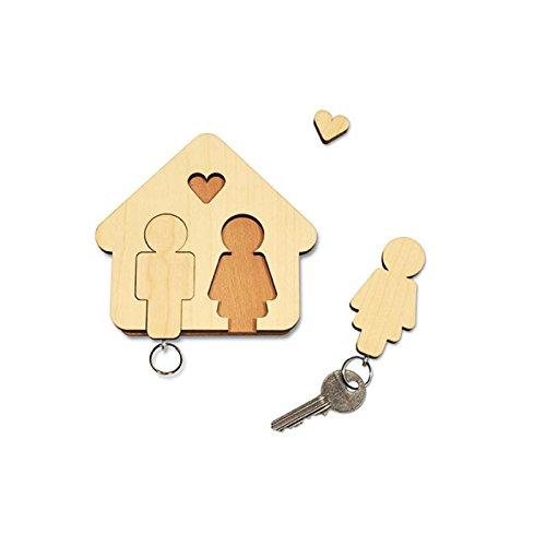 Syltiges.de GbR 'CHIAVE A Uomo + Donna–Il Regalo Perfetto per Natale, per matrimonio o per San Valentino. Design im Dorf 30035