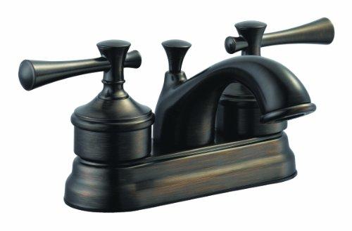 Design House 524561 Ironwood 4 Inch Lavatory Faucet  Brushed Bronze