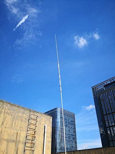 Retevis MA04 4 HF Banda 7/14/21/28MHz, SL16-F, Antena de Onda ...