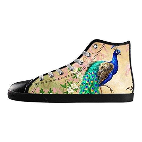Dalliy sch?ne pfau Mens Canvas shoes Schuhe Footwear Sneakers shoes Schuhe E