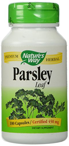 033674153000 - Nature's Way Parsley Leaf Capsules, 450 mg, 100-Count carousel main 0