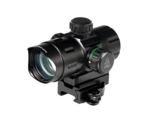 UTG 4.2'' ITA Red/Green CQB Dot with QD Mount, Riser Adaptor by UTG