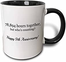 Modern Traditional 9th Wedding Anniversary Gifts For Women Men