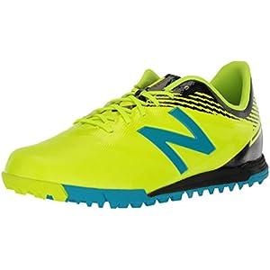 New Balance Men's Furon 3.0 Dispatch TF Soccer Shoe, Hi Lite/Maldives, 12 D US