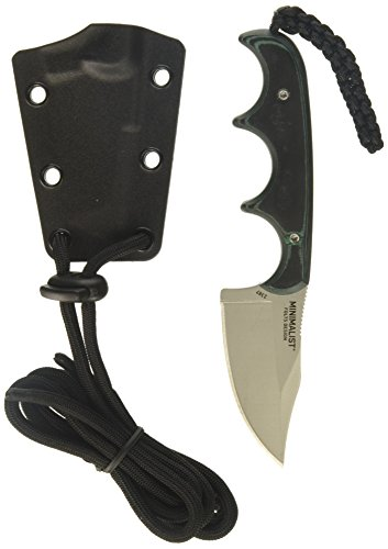 Finger Grips Nylon Sheath - Columbia River Knife And Tool's Folts Minimalist Bowie 2387 Razor Edge
