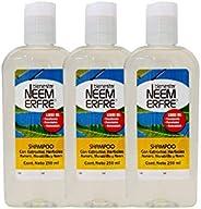 Shampoo Natural Herbal Limpieza Profunda de Romero Manzanilla Neem-Vegano Biodegradable-Sin quimicos Parabenos