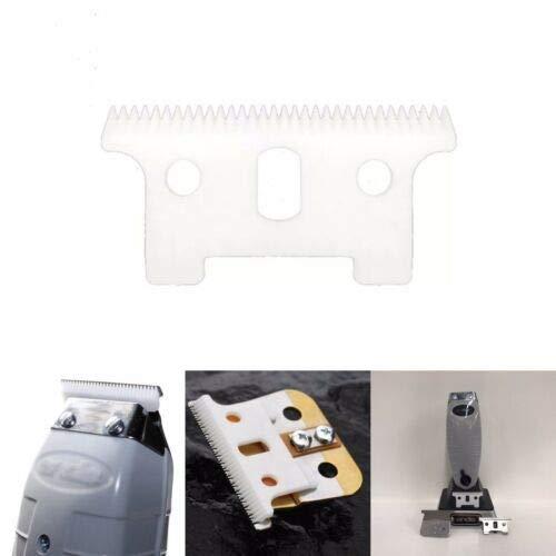 (Ceramic Blade Ceramic Cutter for Andis Blackouts, Andis GTX, Andis T-outliner,Andis T-outliner Cordless (White Ceramic))