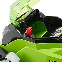 Greenworks Cortacésped inalámbrico 35cm de 40V Li-Ion con 2 baterías de 2Ah y cargador - 2501907UC