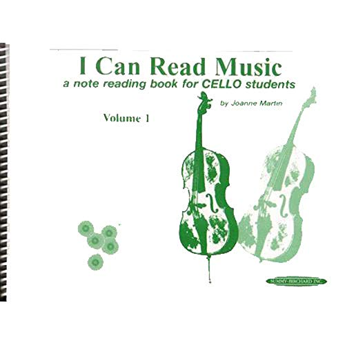 Martin, Joanne - I Can Read Music, Volume 1 - Cello - Alfred Music Publishing