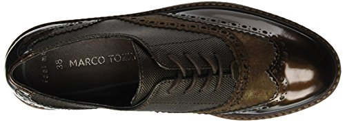 Braun TOZZI MARCO Comb Met 23718 Oxfords Damen Cafe fqwIx8p6w