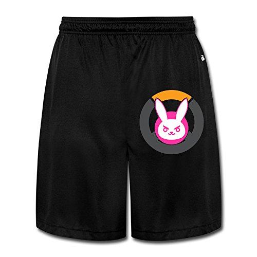 Logon 8 Men's Over Rabbit Watch Personalize Performance Shorts Sweatpants Black - Blog Beyonce's