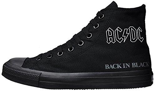 Converse, Sneaker bambine Nero nero 36.5