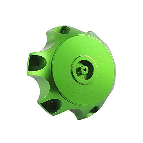 WPHMOTO CNC Aluminum Gas Fuel Tank Cap with Breather Valve For 50cc 70cc  90cc 110cc 125cc 140cc 150cc 160cc Pit Dirt Bike Motorized Bicycle (Green)