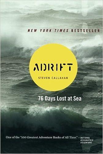 Adrift Seventy Six Days Lost At Sea Steven Callahan 8601420033818 Amazon Books