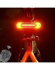 Fietsknipperlicht, achterlicht met afstandsbediening, waterdicht USB-fietslicht, super heldere led-fietsverlichting, achterlicht voor fiets, MTB