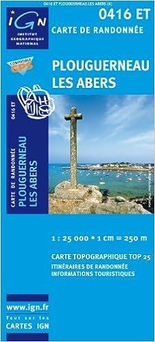 Livres téléchargeables sur ipad Plouguerneau / Les Abers GPS: Ign.0416et PDF FB2 iBook 2758505223