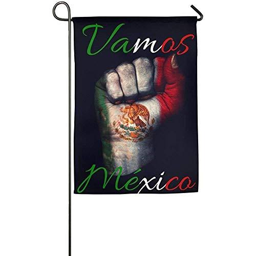 Dozili Garden Flag Custom Mexican Flag Signal Home Home Deco