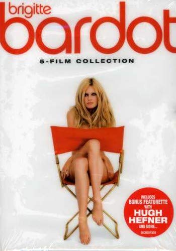 Brigitte Bardot Five-Film Collection (Naughty Girl / Love on a Pillow / The Vixen / Come Dance with Me / Two Weeks in September) (The Best Of Bardot)