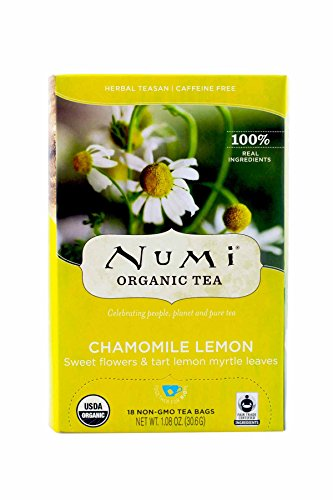 Numi Organic Chamomile Herbal 18 Count