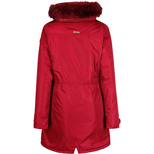 and Waterproof Breathable Jacket Insulated Red Women's Regatta Lucasta Rumba tSwq7fP