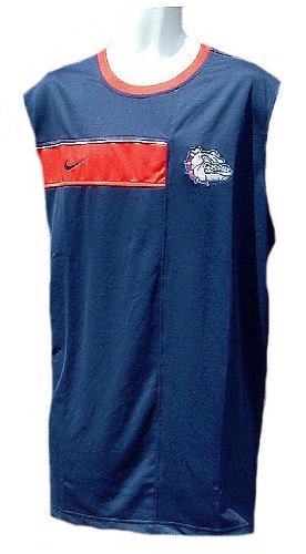 Nike Gonzaga Bulldogs NCAA Official Pre-Game Dri-FIT Sleeveless Top Team Sports (XL=48)