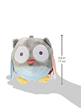 Grey Pastel Multi 307579 Skip Hop Baby Treetop Friends Owl Chiem Ball Recolor