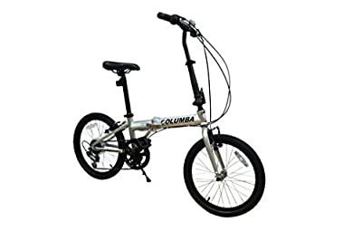 "Columba 20"" Compact Folding Bike (PR20S)"