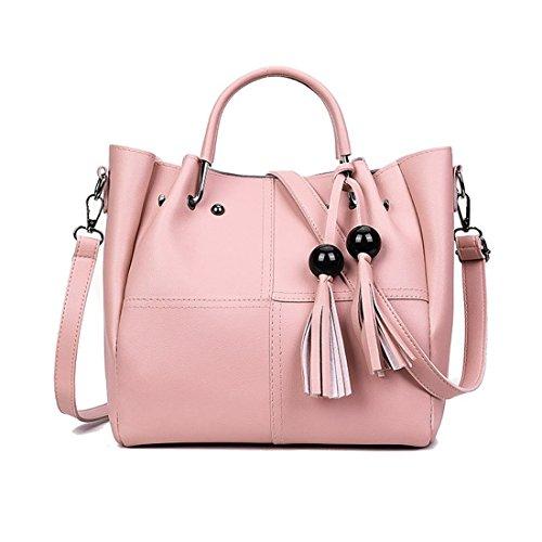 taille bonbon main rose à GBUKQMY220516 dos porté unique Bonbon Rose pour au Rose femme Mangetal Sac fPqvwxEv8