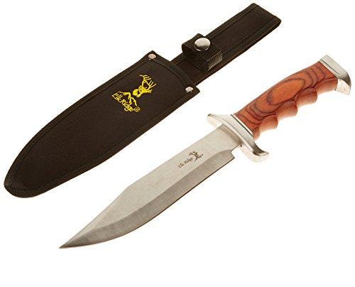 Elk Ridge Er-012 Fixed Blade Knife 12.5-Inch Overall