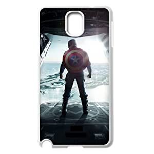 C-EUR Customized Print Captain America 2 Hard Skin Case Compatible For Samsung Galaxy Note 3 N9000