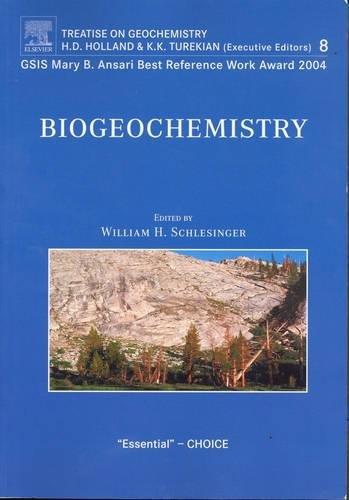 Biogeochemistry: Treatise on Geochemistry, Volume 8