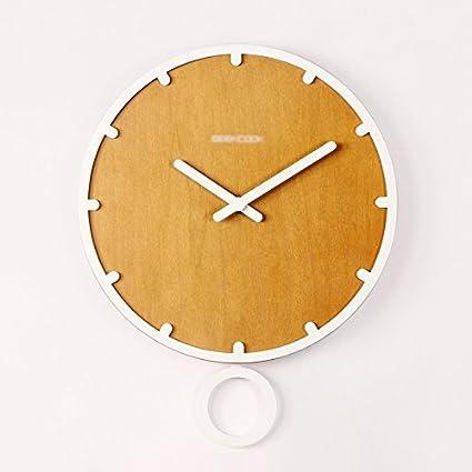ZWL Relojes personalizados Reloj de pared de moda Relojes de pared de reloj de cuarzo Decoración ...