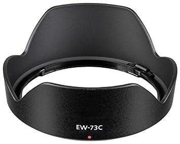 CELLONIC® Parasol EW-73C Compatible con Objetivo Canon EF-S 10 ...