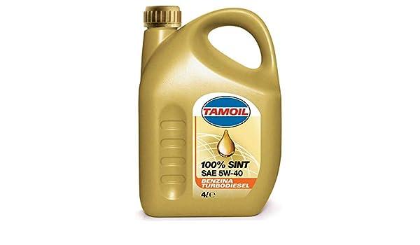 TAMOIL Aceite sintético para Motores a Gasolina y Diesel: Amazon ...