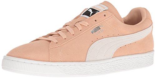 - PUMA Men's Suede Classic Fashion Sneaker, Natural Vachetta-plum, 11.5 D(M) US
